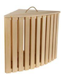 Ящики и корзины для белья деревянные