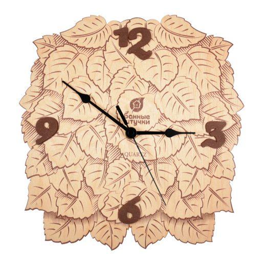 """Купить с доставкой Часы """"Листья"""" 23"""