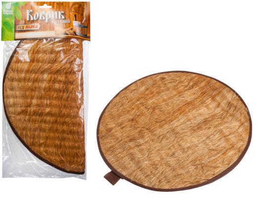 Купить с доставкой Коврик из лыка круглый 45*45 смБанные Штучки по низкой цене
