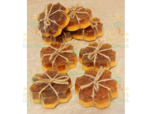 Купить с доставкой Мыло «Медовые соты»Наш Кедр по низкой цене
