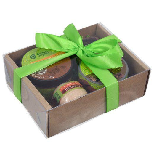 """Купить с доставкой Подарочный набор """"Шоколадное SPA"""" 4 предметаБанные Штучки по низкой цене"""