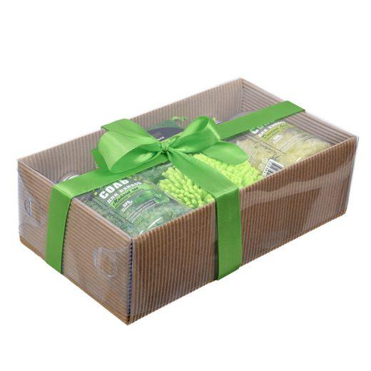 """Купить с доставкой Подарочный набор """"Зеленый"""" 4 предметаБанные Штучки по низкой цене"""