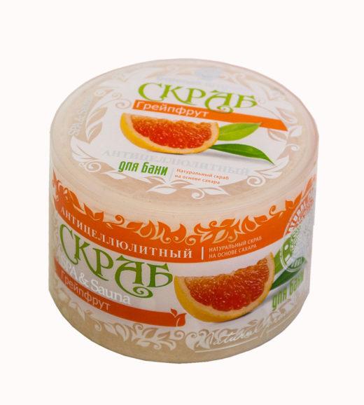 """Купить с доставкой Скраб для тела сахарный """"Грейпфрут"""""""